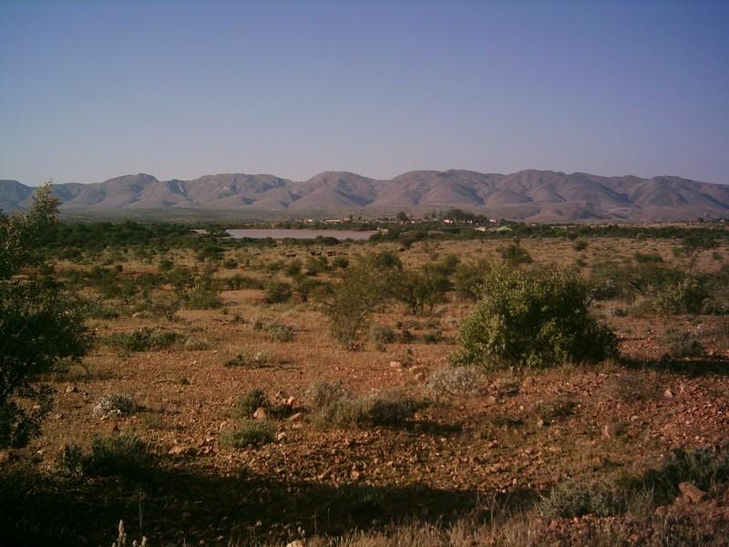 Landschaft südöstlich von Windhoek - Auswandern nach Namibia