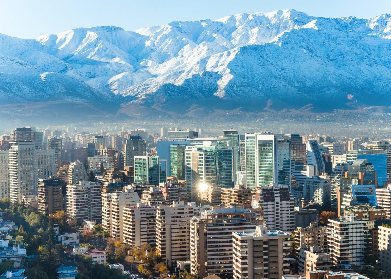 Mit einer der schönsten Städte in Chile