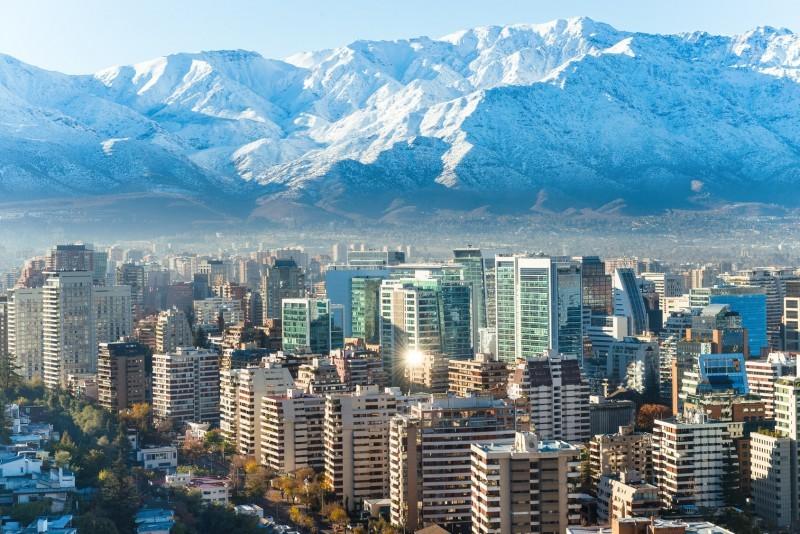 Auswandern nach Chile: Die Hauptstadt Santiago