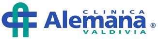 Das logo der deutschen Klinik Valdivia - Gesundheit in Chile