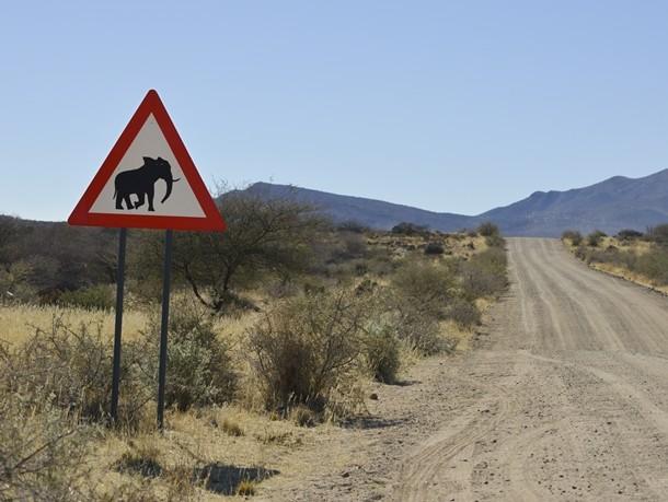 Autofahren in Namibia