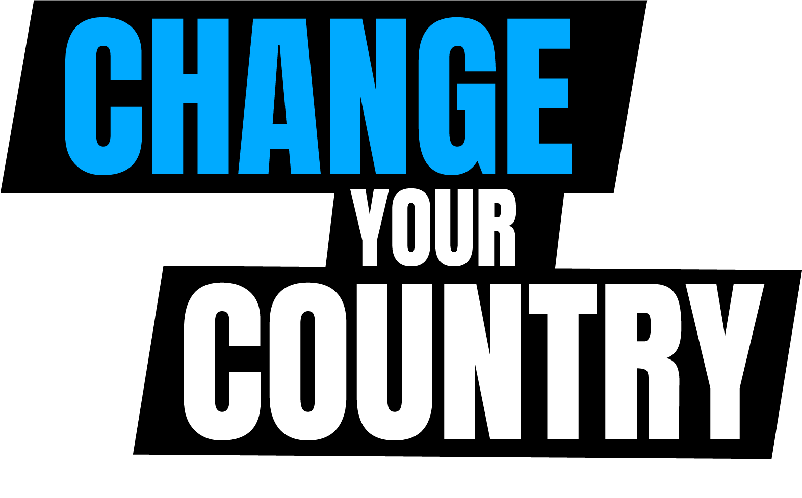 CHANGE YOUR COUNTRY